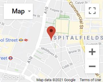 Thomas Mansfield Head Office Location Map